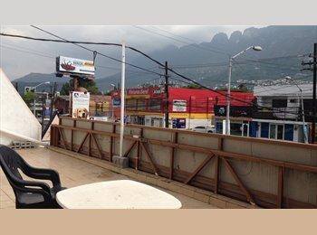 CompartoDepa MX - Cuarto Amplio en Departamento San Pedro - San Pedro - Valle, Monterrey - MX$4,500 por mes