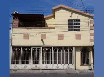 CompartoDepa MX - Cuartos Ejecutivos  UANL - Metro Sendero o Tapia - San Nicolás de los Garza, Monterrey - MX$2,500 por mes