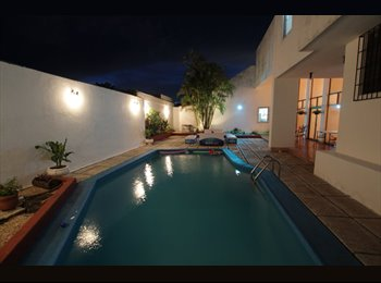 CompartoDepa MX - ¡¡¡ Casa Blanca !!!, Merida - MX$4,500 por mes