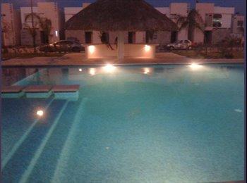CompartoDepa MX - Comparto casa en Fracc Crystal Lagoons - Apodaca, Monterrey - MX$3,500 por mes