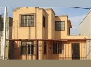CompartoDepa MX - Rento casa a tres jóvenes profesionistas - Guadalupe, Monterrey - MX$2,000 por mes