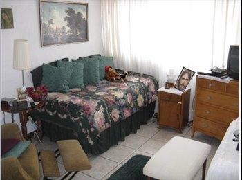 Habitación Amueblada; cable, Internet. Coyoacán