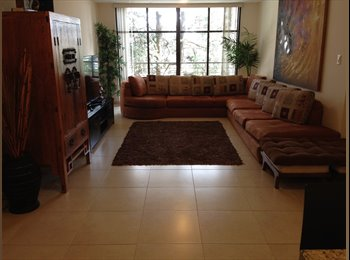 CompartoDepa MX - Cuarto muy espacioso en depa 100% amueblado a 5 min de Santa Fe - Cuajimalpa de Morelos, DF - MX$8,000 por mes