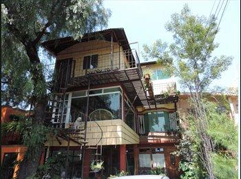 Habitaciones cercanas al centro de coyoacan $3500