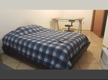 CompartoDepa MX - Se renta cuarto 3200  pesos - San Luis Potosí, San Luis Potosí - MX$3,200 por mes