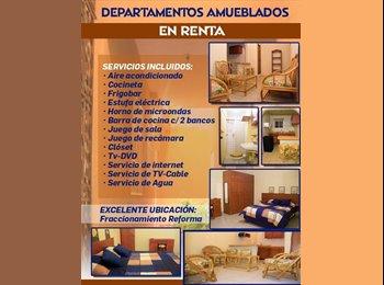 CompartoDepa MX - Departamentos amueblados en renta - Veracruz, Veracruz - MX$5,000 por mes