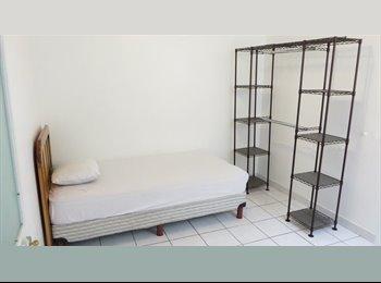 Habitación individual con baño privado en Roma Sur