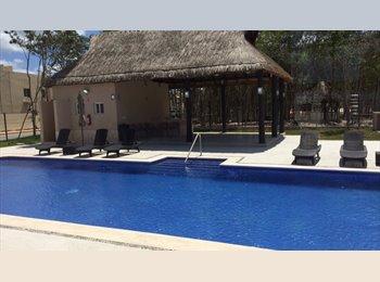 CompartoDepa MX - Playa del carmen zona residencial - Playa del Carmen, Cancún - MX$2,990 por mes