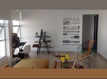 CompartoDepa MX - Comparto depa Zona El Mirador, Qro. Solo mujer. - Delegación Felipe Carrillo Puerto, Querétaro - MX$5,500 por mes