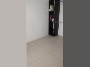 Se renta habitación en departamento compartido