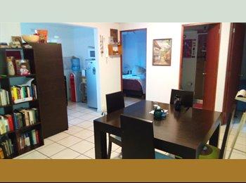 CompartoDepa MX - Rento cuarto con todos los servicios cerca de metro y metro bus Coyuya - Iztacalco, DF - MX$2,700 por mes