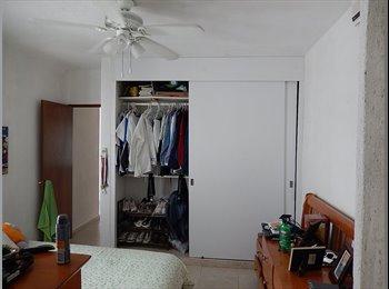 CompartoDepa MX - Habitación Céntrica en Cancún, Cancún - MX$3,500 por mes