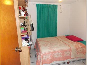 CompartoDepa MX - Cuarto Amueblado muy cerca de Plaza Ciudadela - Zapopan, Guadalajara - MX$2,700 por mes