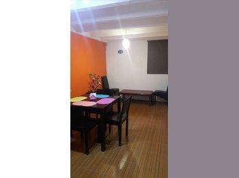 CompartoDepa MX - Departamento compartido plaza san diego  - Cholula, Cholula - MX$1,400 por mes