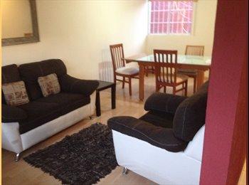 CompartoDepa MX - Casa en Cholula Fracc. Santa Monica, 2 cuartos disp., 2500$! - Cholula, Cholula - MX$2,500 por mes