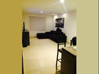 CompartoDepa MX - Busco Roomie para compartir depa nuevo - Tlalpan, DF - MX$4,000 por mes