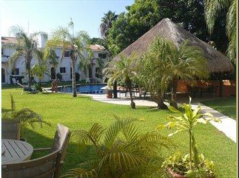 CompartoDepa MX - Rento casa amueblada playacar - Playa del Carmen, Cancún - MX$22,000 por mes