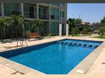 CompartoDepa MX - Se renta cuarto en TORRES DEL RIO - Culiacán, Culiacán - MX$4,250 por mes