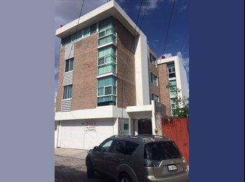 CompartoDepa MX - comparto depa por angelopolis a 5 minutos tec de monterrey - Otras, Puebla - MX$3,750 por mes