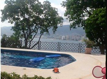 CompartoDepa MX - En renta habitaciones  en Brisas Guitarron - Acapulco, Acapulco - MX$6,000 por mes
