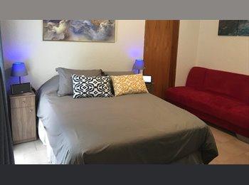 CompartoDepa MX - Bonita habitación en Depa frente al Parque de la Nápoles , Cuauhtémoc - MX$7,000 por mes