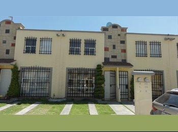 CompartoDepa MX - Casa Hacienda del Valle cerca Apto y Parque toluca 2000 - Toluca, México - MX$1,500 por mes