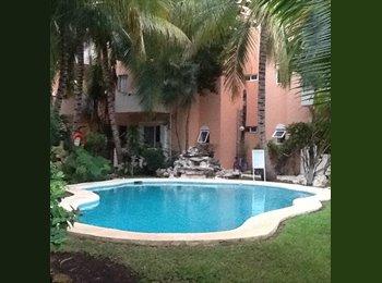 CompartoDepa MX - RENTO CUARTO EN DEPA EN PLAYACAR  - Playa del Carmen, Cancún - MX$3,300 por mes