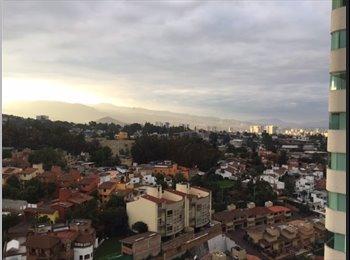CompartoDepa MX - Cuarto de Servicio en Santa Fe con hermosa vista - Cuajimalpa de Morelos, DF - MX$5,500 por mes