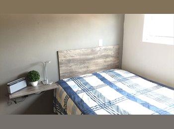 CompartoDepa MX - Habitación Amueblada  cerca Facultad de Medicina, Hosp de la Mujer - Toluca, México - MX$2,000 por mes
