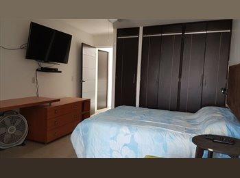 CompartoDepa MX - cuartos totalmente amueblados, baño privado, cerca tec, flextronics, Guadalajara - MX$5,000 por mes