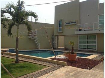 CompartoDepa MX - Cuarto compartido cerca de la UJAT. Casa minimalista.  - Villahermosa, Villahermosa - MX$2,500 por mes