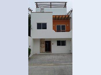CompartoDepa MX - Rento casa largo plazo (oportunidad) - Playa del Carmen, Cancún - MX$16,000 por mes