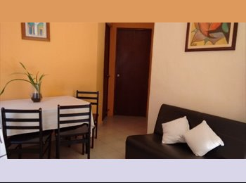 CompartoDepa MX - Appartment with two bedrooms only a few steps away from the center - Playa del Carmen, Cancún - MX$7,500 por mes