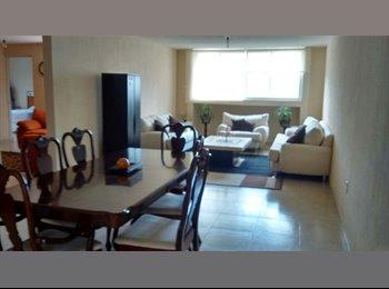 CompartoDepa MX - Extraordinario y exclusivo departamento en condominio., Querétaro - MX$12,500 por mes