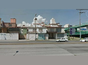 CompartoDepa MX - Habitaciones de Hospedaje para Alumnos frente a Ciudad Universitaria UAEM - Toluca, México - MX$3,700 por mes