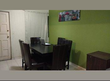 CompartoDepa MX - Se renta habitación en casa amueblada   - San Nicolás de los Garza, Monterrey - MX$2,500 por mes