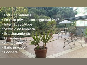 CompartoDepa MX - Loft en Renta - Huixquilucan, México - MX$5,500 por mes