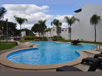 Playa del Carmen - Hermosa casa amueblada en...
