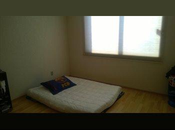 CompartoDepa MX - Depa de 3 habitaciones, buscamos tercera persona - Miguel Hidalgo, DF - MX$5,000 por mes