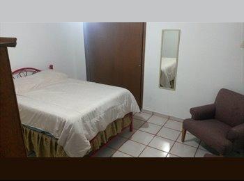 CompartoDepa MX - HABITACIONES AMUEBLADAS EN RENTA CERCA DE HOTEL WESTIN SOBERANO - Chihuahua, Chihuahua - MX$1,500 por mes
