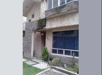 CompartoDepa MX - recamara amueblada centrica y economica con serv. incluidos - Centro Histórico, Puebla - MX$1,800 por mes