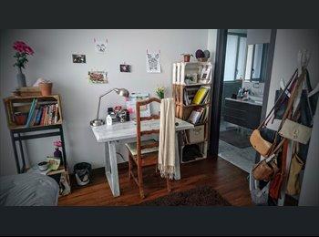 CompartoDepa MX - habitación amueblada en santa fe - Cuajimalpa de Morelos, DF - MX$12,500 por mes
