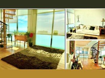 CompartoDepa MX - Increíble Penthouse en santa fe - Cuajimalpa de Morelos, DF - MX$6,500 por mes