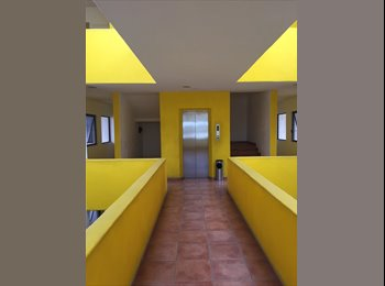 CompartoDepa MX - Rento Cuarto Amplio Amueblado en Excelente Condominio y Zona - San Luis Potosí, San Luis Potosí - MX$6,000 por mes