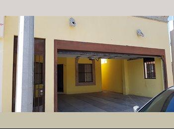 CompartoDepa MX - Comparto casa cerca sams morelos, Hermosillo - MX$2,000 por mes