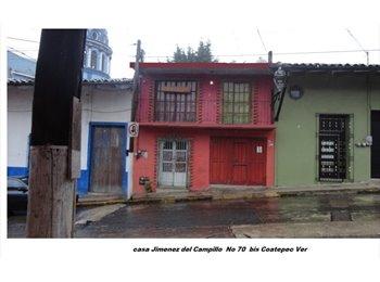 En Coatepec Ver comparto departamento