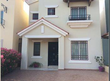 CompartoDepa MX - Se rentan 2 cuartos en Casa/Privada, Culiacán - MX$1,800 por mes