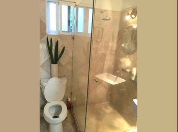 CompartoDepa MX - Rento bonita recamara amueblada, baño indep, Cuernavaca, Cuernavaca - MX$3,000 por mes