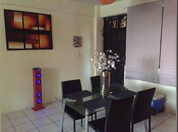 CompartoDepa MX - CUARTO DISPONIBLE FRENTE A CHEDRAUI TAMULTE, Villahermosa - MX$1,500 por mes