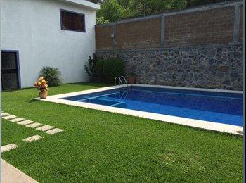 CompartoDepa MX - RENTA DE DOS RECAMARAS EN CONDOMINIO RESIDENCIAL, Cuernavaca - MX$2,000 por mes